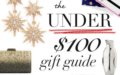 My UNDER $100 GIFT GUIDE!