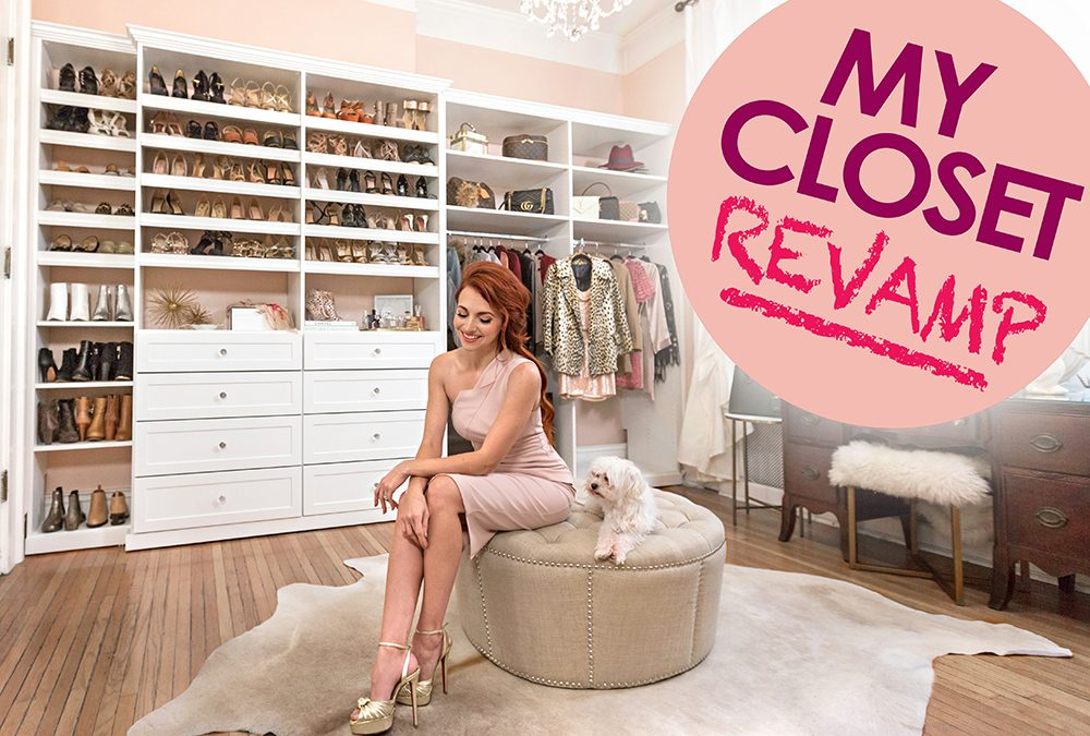 My CLOSET REVAMP REVEALED