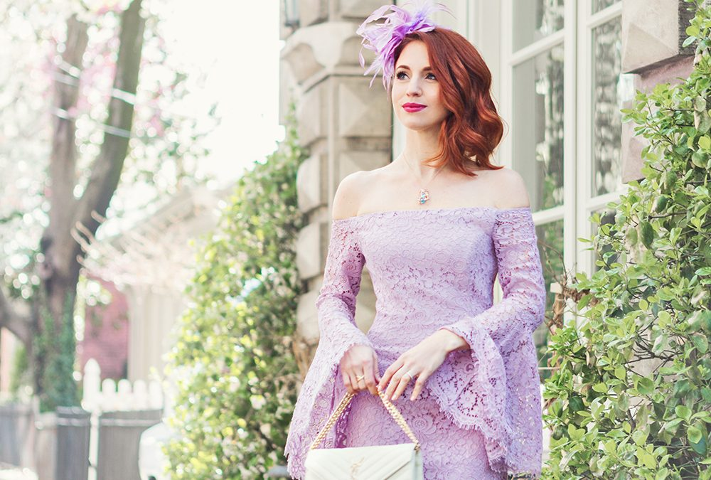 LILAC LACE for the RACES