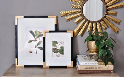 Designer GILDED PICTURE FRAME DIY