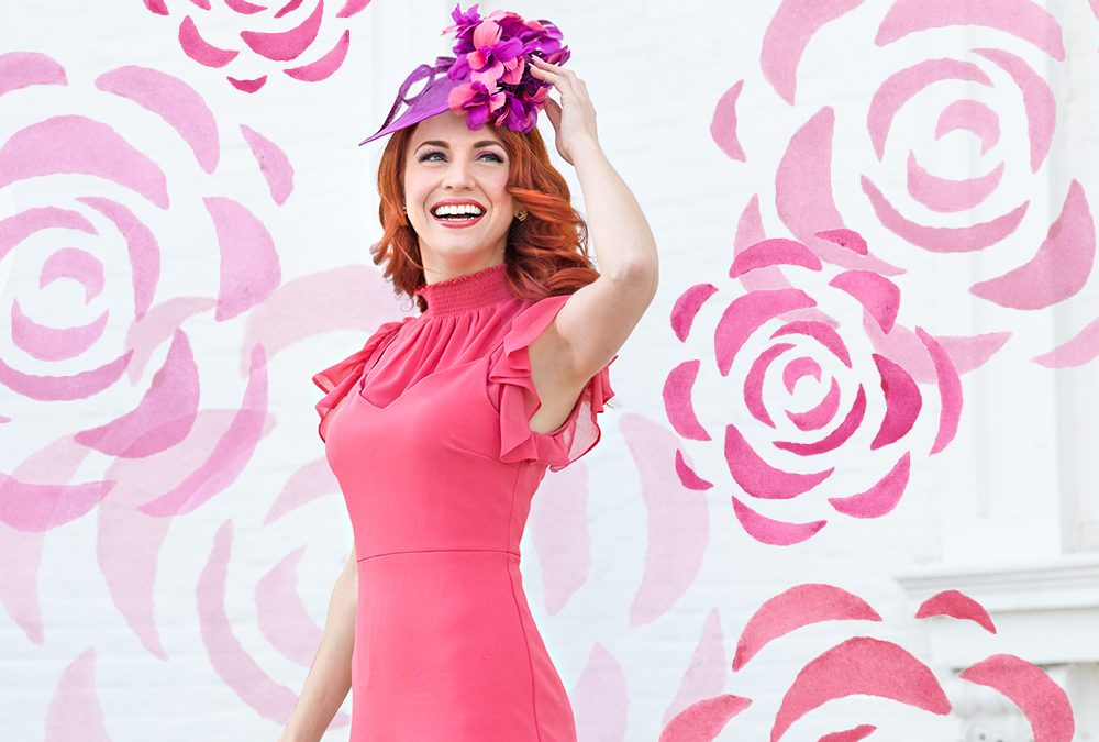 Derby Fashion: Coral Meets Purple